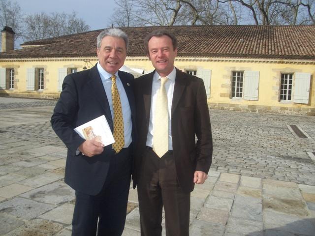 Paolo Baracchino e Paul Pontallier