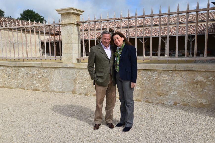 Signor Karl Friedrich Scheufele e la moglie Christine Scheufele