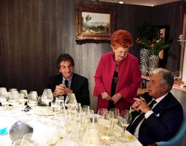 da sinistra Sergio Antonini, Annie Feolde, Paolo Baracchino