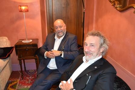 da sinistra Leo Damiani e Enrico Baldin