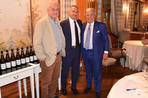 da sinistra Jaen Hervèe Chiquet, Marco Maffei e Paolo Baracchino