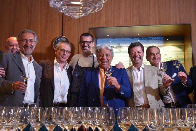 da sinistra Leo Damiani, Roberto Schneuwley, Maurizio Tarquini, Antonio Guida, Paolo Baracchino, Orazio Vagnozzi e Marco Maffei