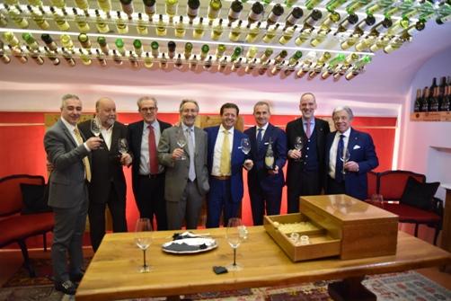 da sinistra Valerio Mearini, Leo Damiani, Maurizio Tarquini, Roberto Schneuwly, Orazio Vagnozzi, Marco Maffei, Stefano Azzolari, Paolo Baracchino