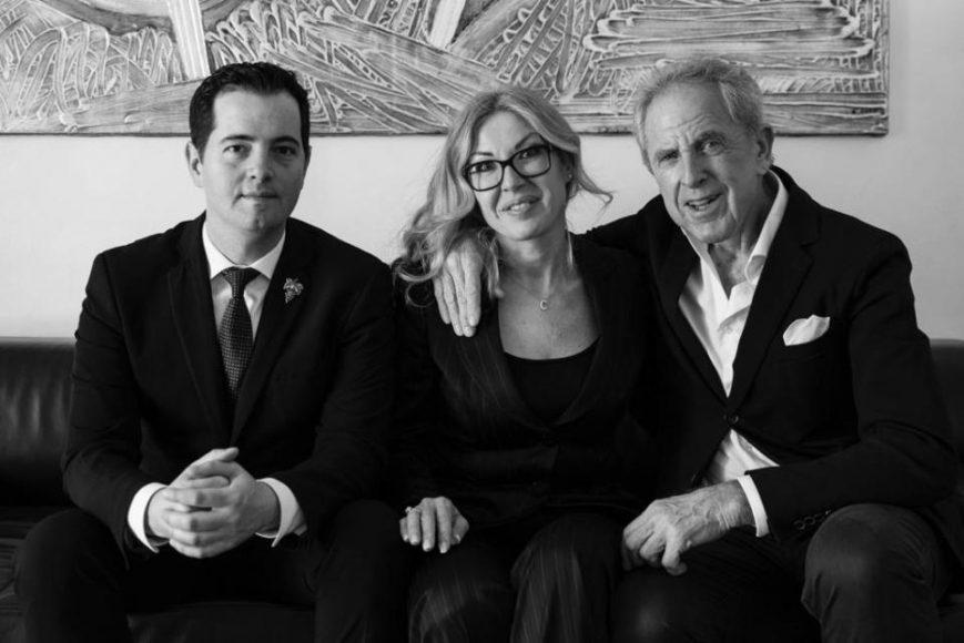 da sinistra Matteo Tognetti, Chiara Viani e Lorenzo Viani